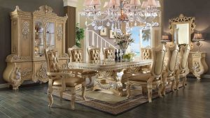 chair dining table set piece homey design victorian palace hd dining set
