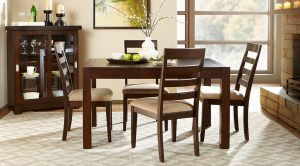 chair dining table set square casual dining room sets x