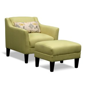 accent chair and ottomans yellow accent chair and ottoman plus throw pillow