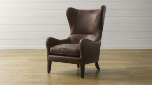 accent lounge chair garbo leather wingback chair