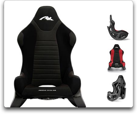 ak rocker gaming chair ak rocker black
