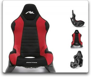 ak rocker gaming chair ak rocker red