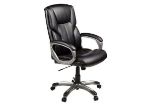 amazonbasics high back executive chair gu
