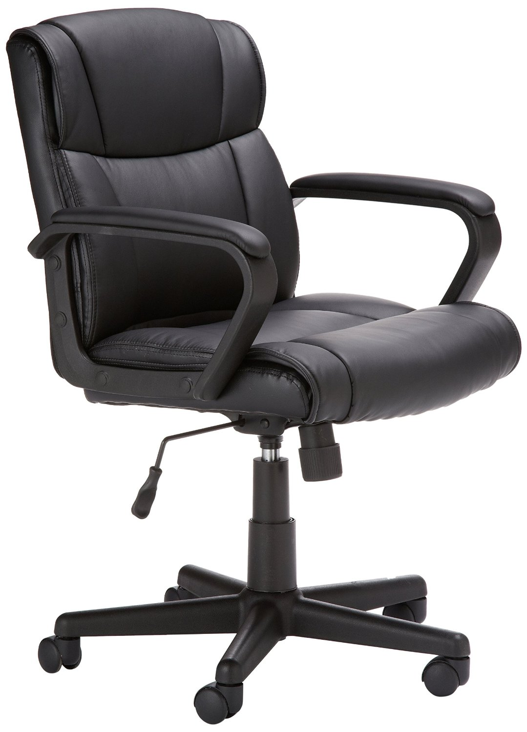 amazonbasics mid back office chair b nqvl sl