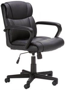 amazonbasics mid back office chair amazonbasics mid back best office chair