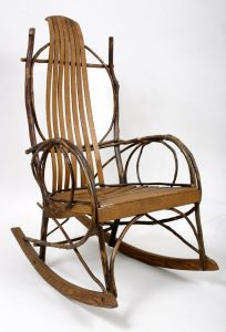 amish rocking chair l