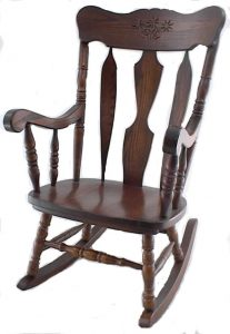 amish rocking chair pid amish solid wood daisy rocker
