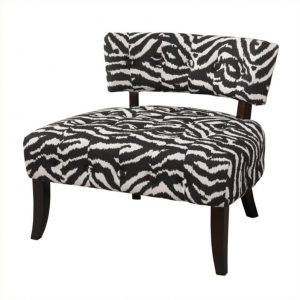 animal print accent chair l