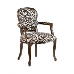 animal print accent chair hammary hidden treasures animal print accent chair