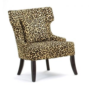 animal print accent chair master:bdi