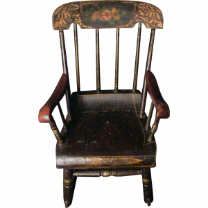 antique rocking chair w l