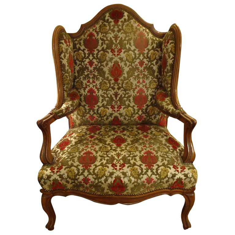 antique wingback chair xxx