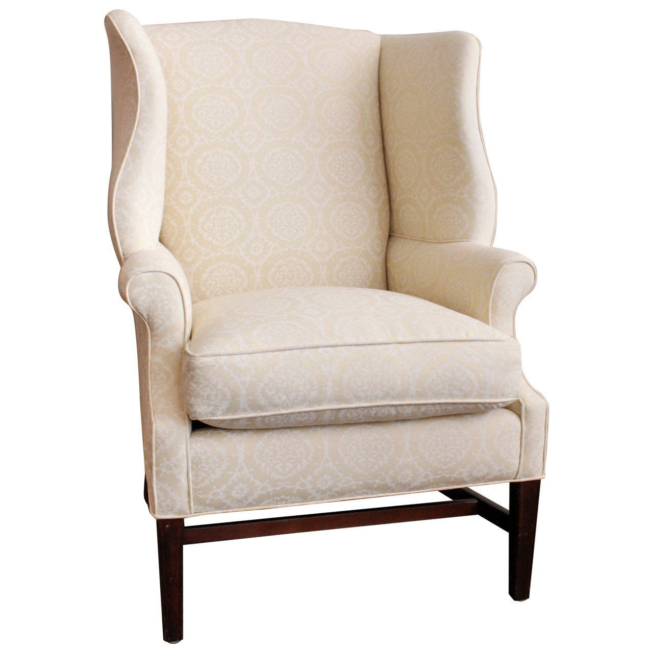 antique wingback chair