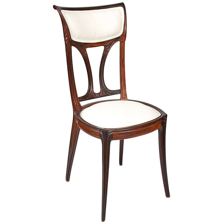 art nouveau chair l
