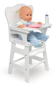 badger basket high chair lg st