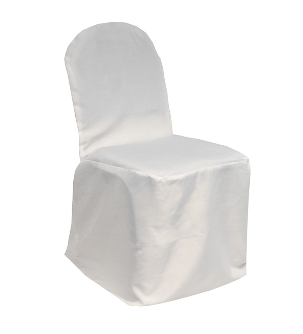 banquet chair covers white