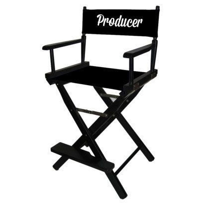 bar height directors chair
