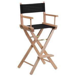 bar height directors chair s l