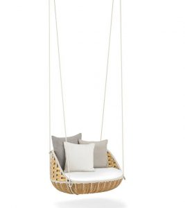 basket swing chair swingme garden hanging chair