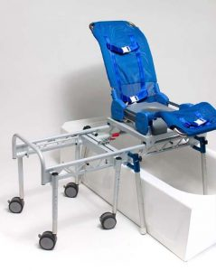 bath chair for disabled adults columbia medical large omni reclining shower commode bath transfer system