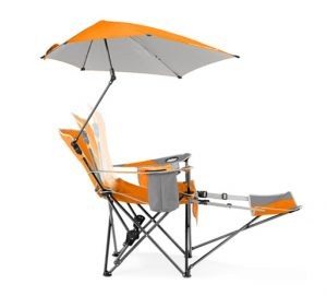 beach chair with umbrella attached recliner chair sup