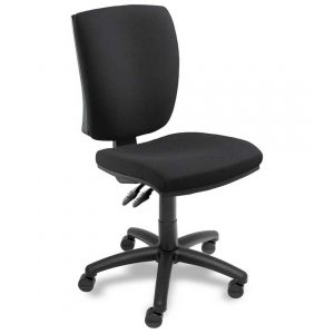 black office chair black swift armless office chair