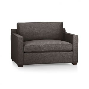 black parsons chair davis twin sleeper sofa
