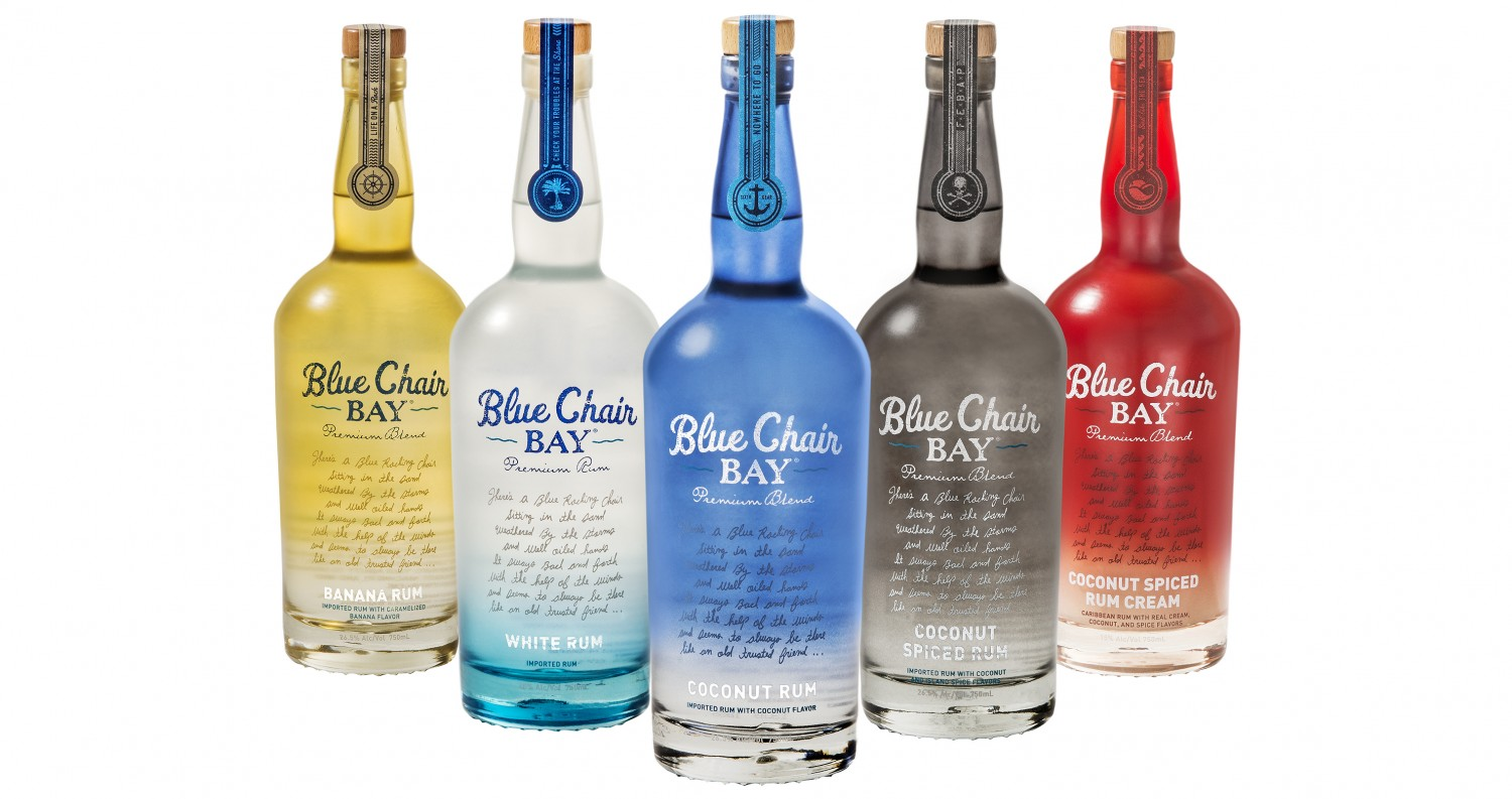 blue chair rum