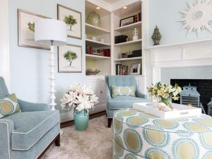 blue living room chair dp liz dickson blue transitional after blue chairs built ins living room h jpg rend hgtvcom