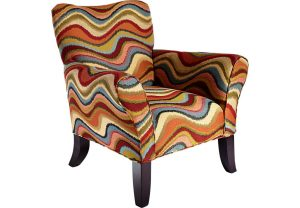 blue pattern accent chair lr chr retro festival~retro festival orange accent chair