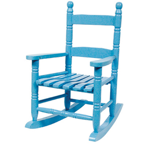 blue rocking chair blue rocking chair