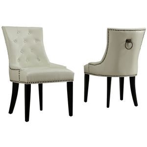 blue tufted dining chair uptown cream leather dining chair aabdf fbb e bcdc fbfed