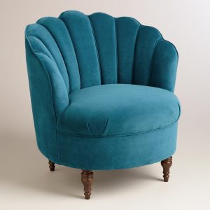 blue velvet chair xxx v