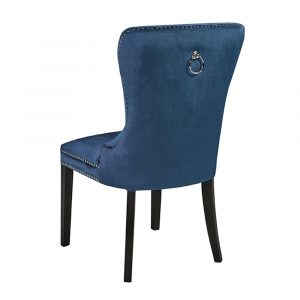 blue velvet chair euphoria blue velvet dining chair