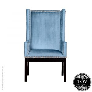 blue velvet chair tov tribeca blue velvet chair