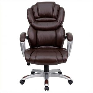 brown office chair l