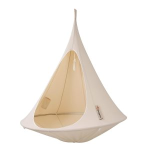 cacoon hanging chair cacoon single natural white