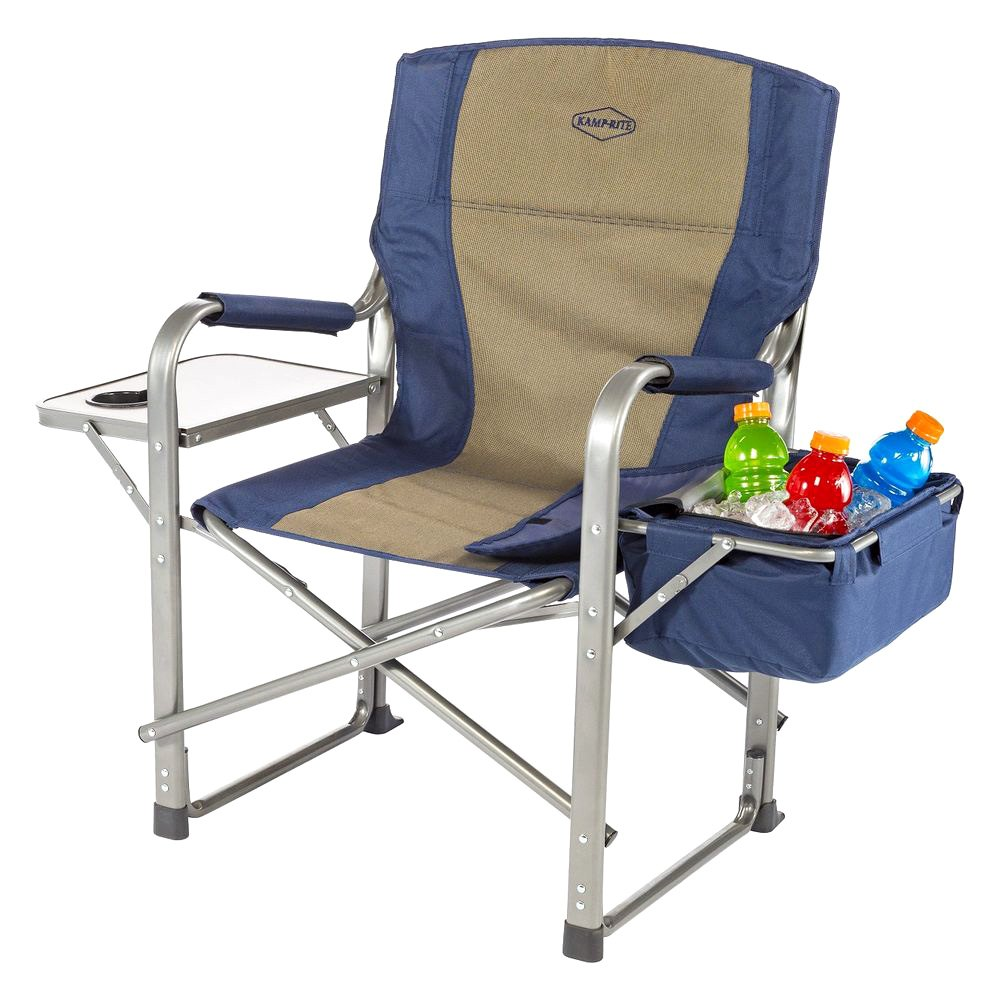 camping chair with side table