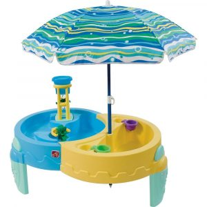 camping chair with umbrella step shady oasis sand and water table toys r us