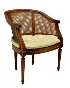 cane back chair l