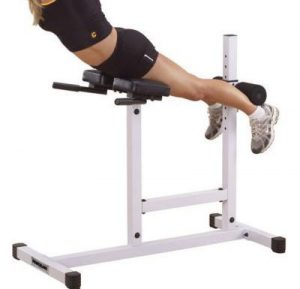 chair abs workout hyperextension abs machine