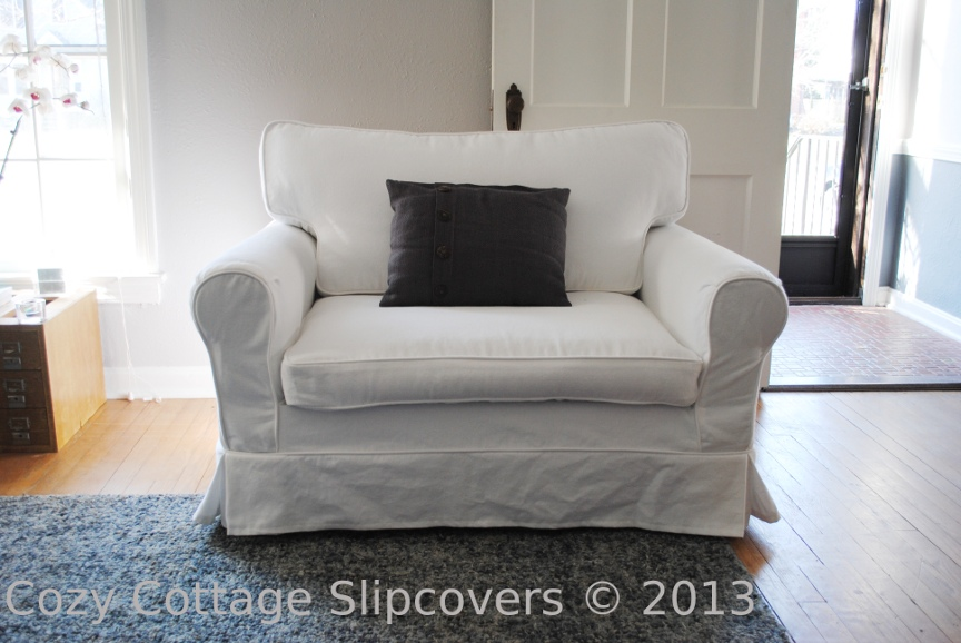 chair and a half slipcover