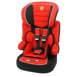 chair booster seats ferrari beline sp group car seat in red