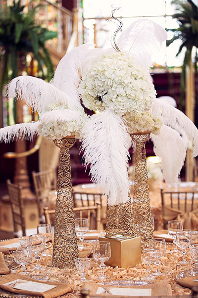 chair coverings weddings great gatsby wedding inspiration
