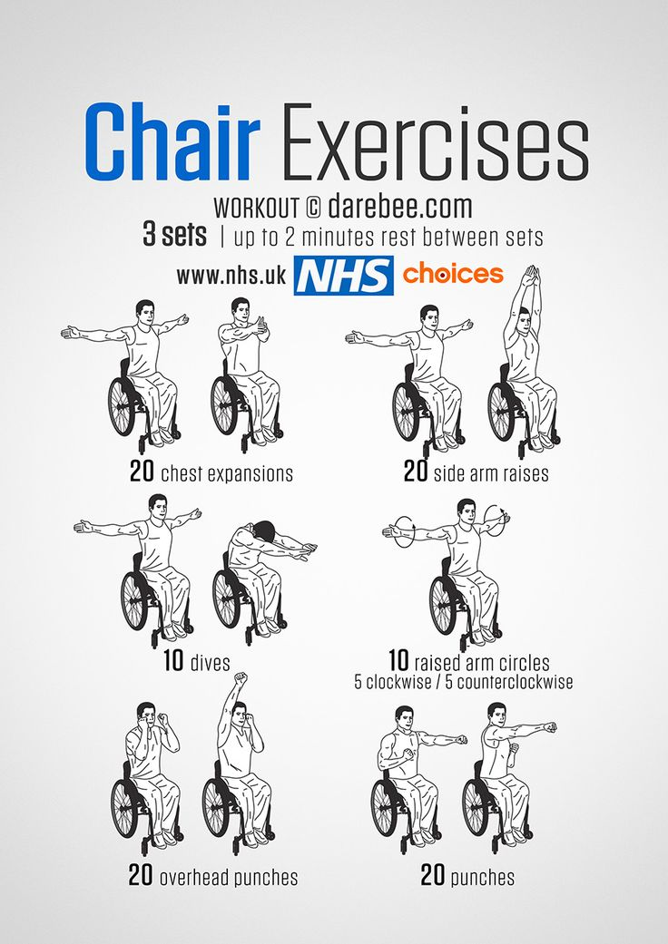 chair exercises for elderly