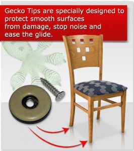 chair glides for wood floors gecko tip