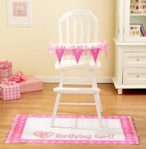 chair mat amazon baby girls first birthday high chair decorating kit pc
