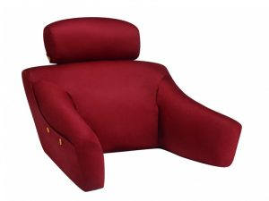 chair pillow for bed burgundy cotton bl