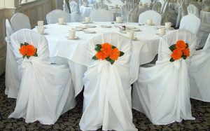 chair sash for wedding image