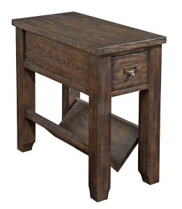 chair side table broyhill attic retreat chairside table raw